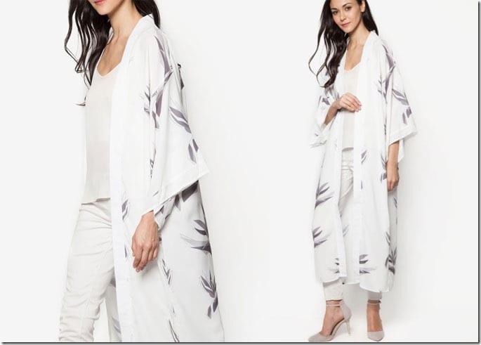 white-grey-floral-long-cardigan