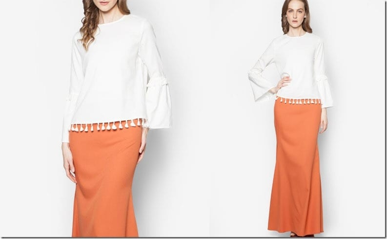white-tangerine-tassel-sleeve-kurung