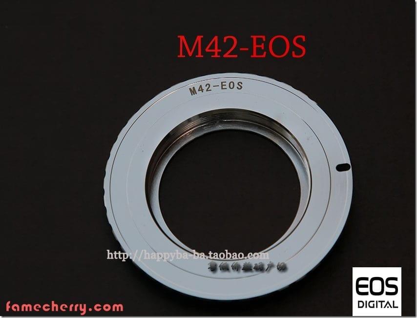 M42 - Canon EF Adapter ( M42 - EOS ) Malaysia