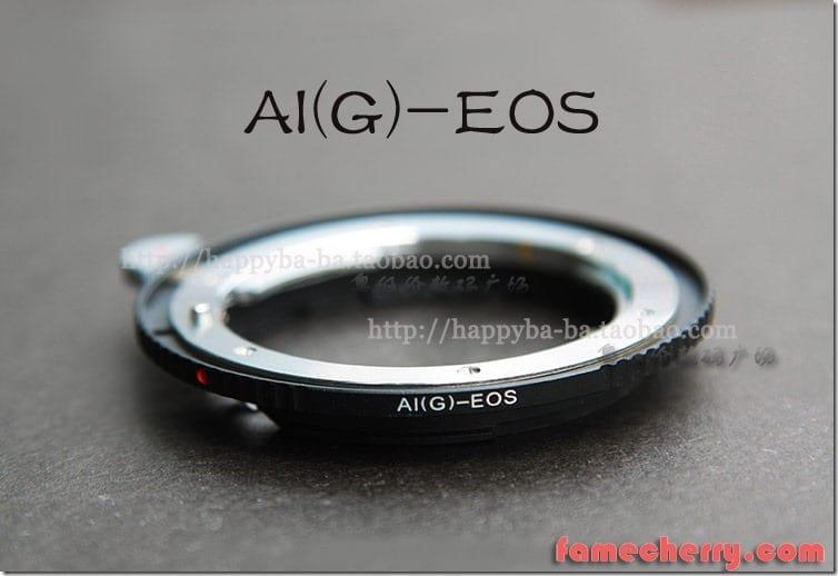 Nikon Ai(G) - Canon EF Adapter ( Ai - EOS ) Malaysia