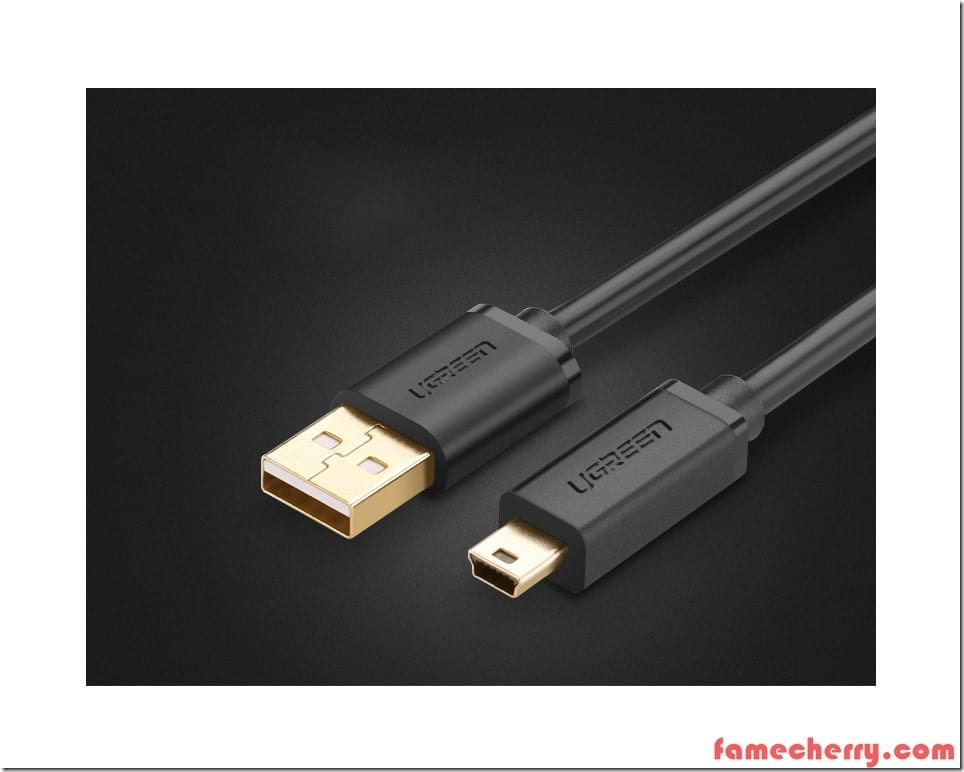 USB to Mini Usb Camera Tether Cable 3m ( Gold Plated ) Malaysia