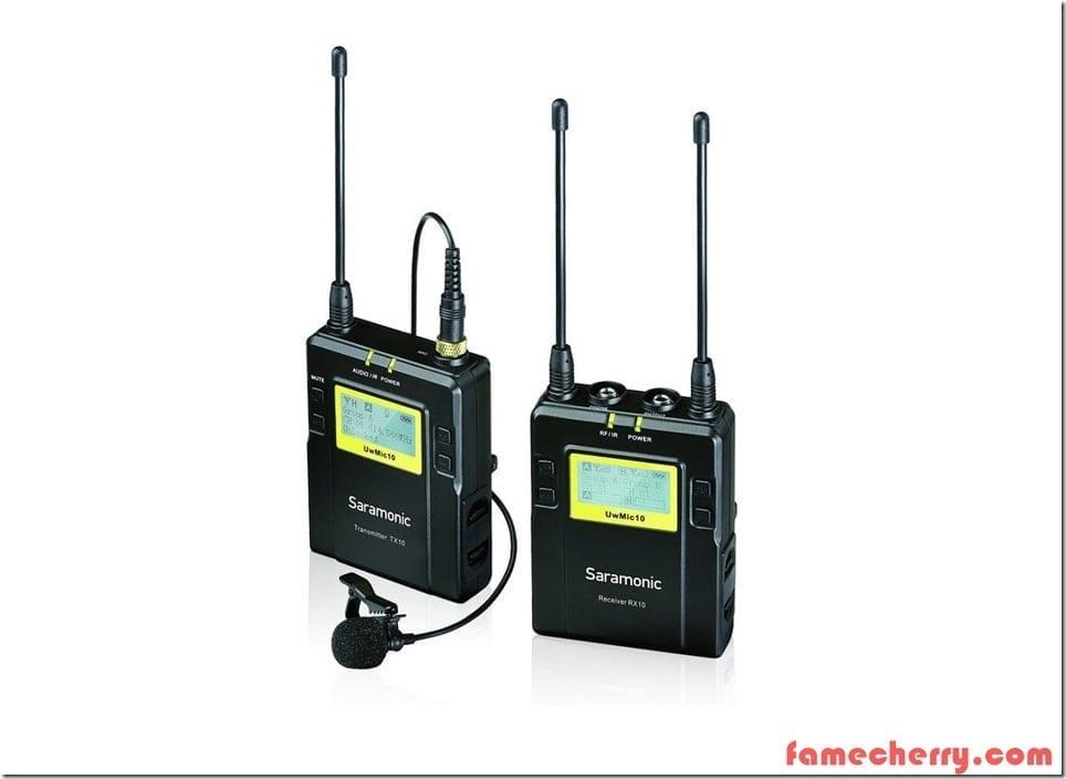 Saramonic UwMic 10 Malaysia ( 1 Transmitter + 1 Receiver )