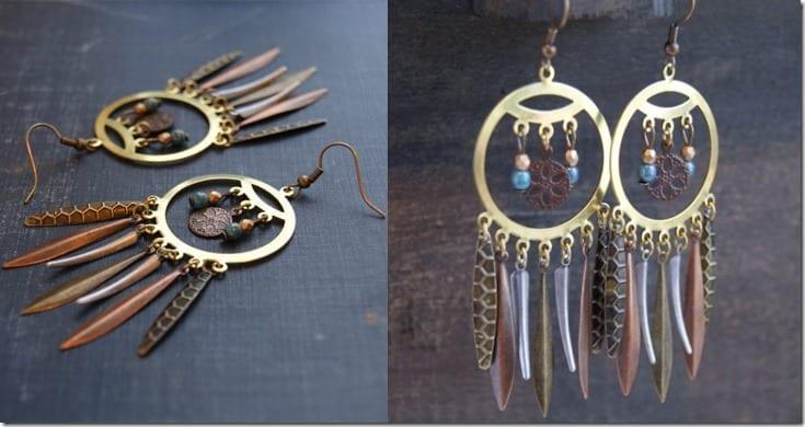 antique-boho-dreamcatcher-earrings