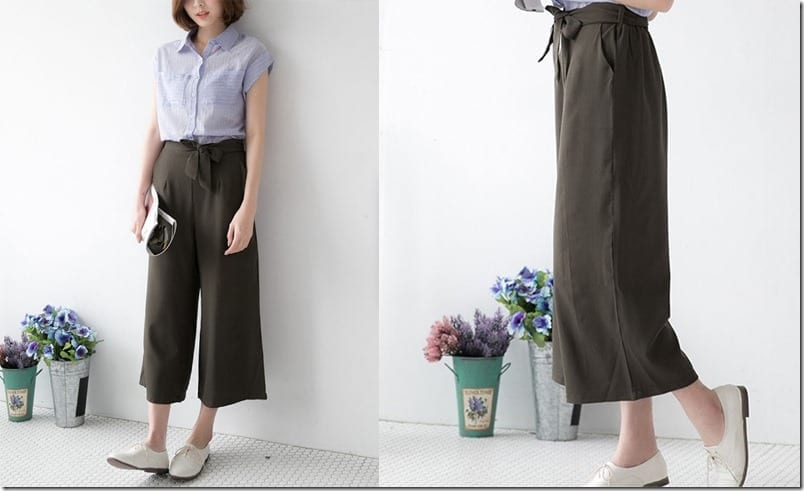 army-green-flowy-trousers