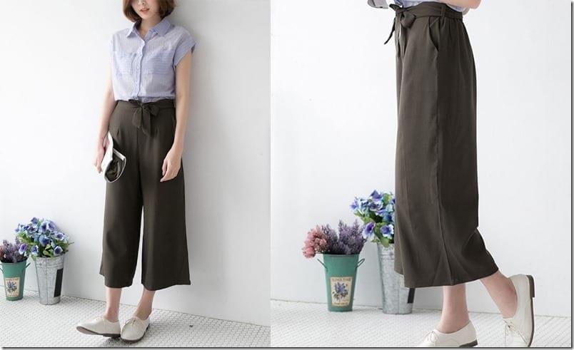 army-green-flowy-trousers