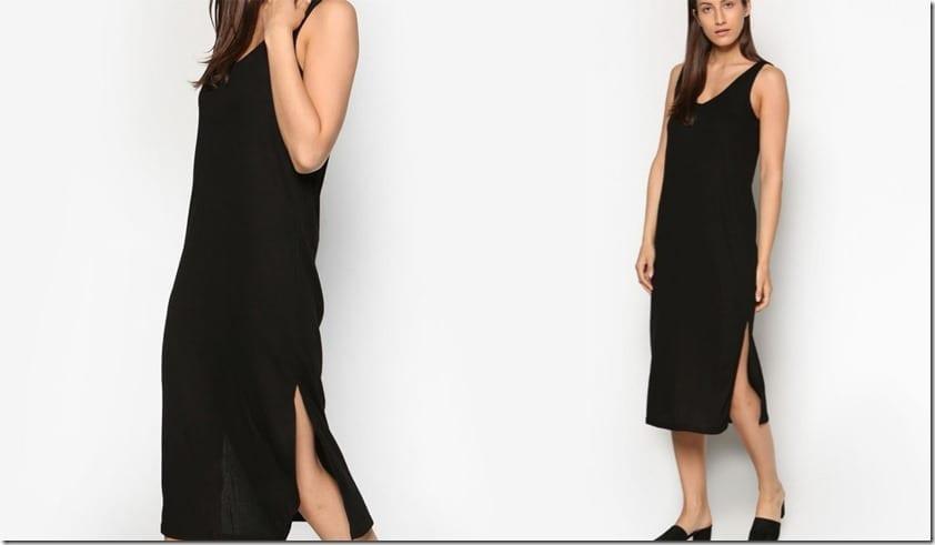 black-ribbed-dress