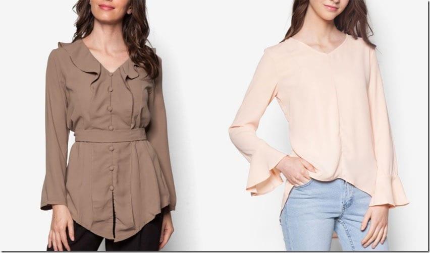 Kebaya Style + Flared Cuff Blouse Ideas For Raya 2016