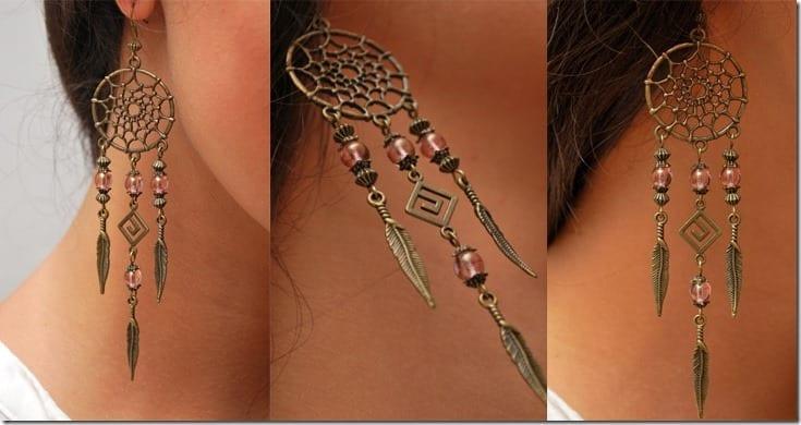 bohemian-dreamcatcher-earrings