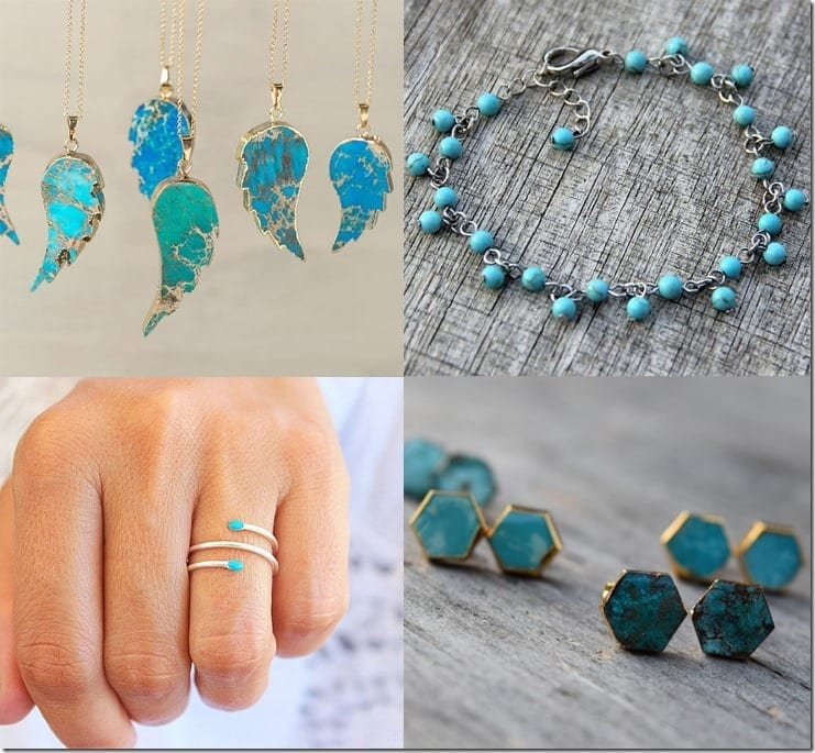7 Turquoise Jewelry Ideas For Pops Of Cool Sea Blue