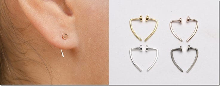 circle-stud-ear-hugging-earrings