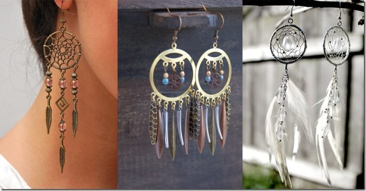 Dreamcatcher Earrings To Wear For A Dreamy Outfit Vibe