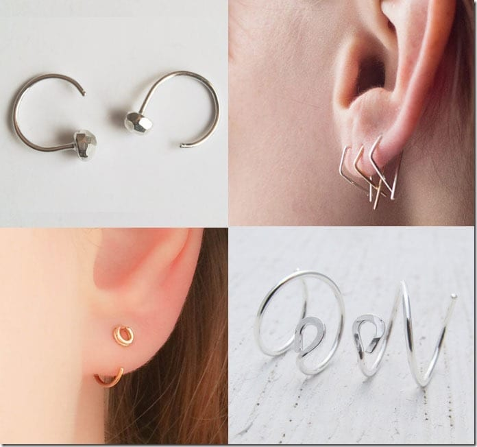 5 Ear Hugger Style Earrings Jewelry Inspiration