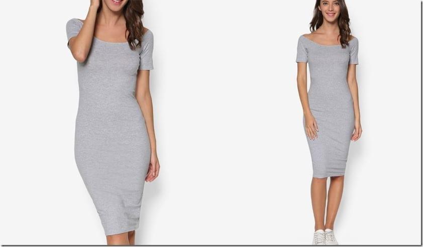 grey-tee-off-shoulder-dress
