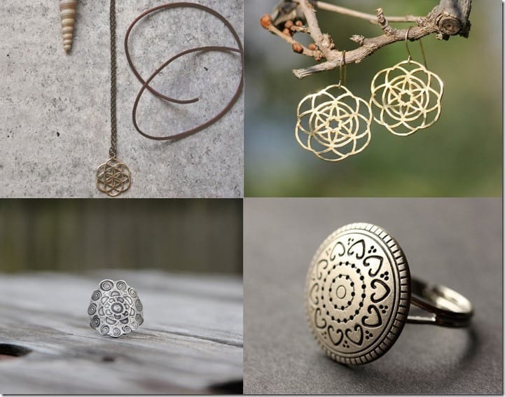 Mandala Inspired Jewelry You Can Wear