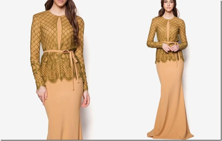 olive-beige-ribbon-lace-kebaya-dress