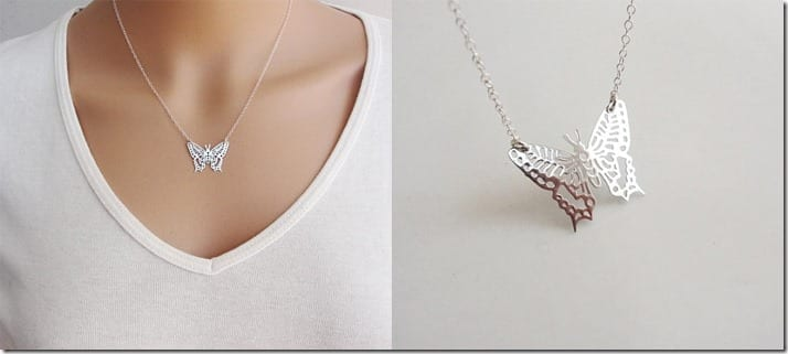 silver-butterfly-charm-necklace