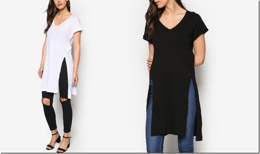 Would You Wear Tops With Statement Slits?