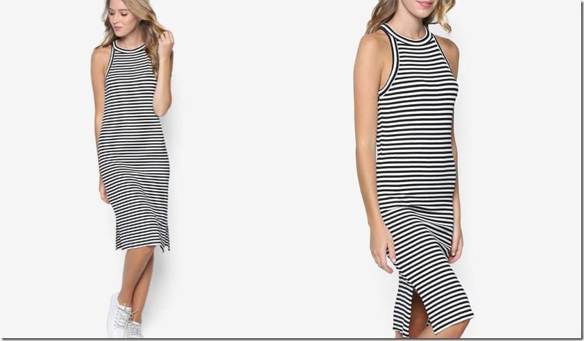 stripe-ribbed-dress