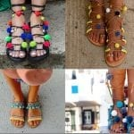 Fashionista NOW: Statement Footwear ~ Would You Wear Pom Pom Sandals?