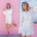 Fashionista NOW: Emit Serious Girly Vibes In These White Lace Dresses
