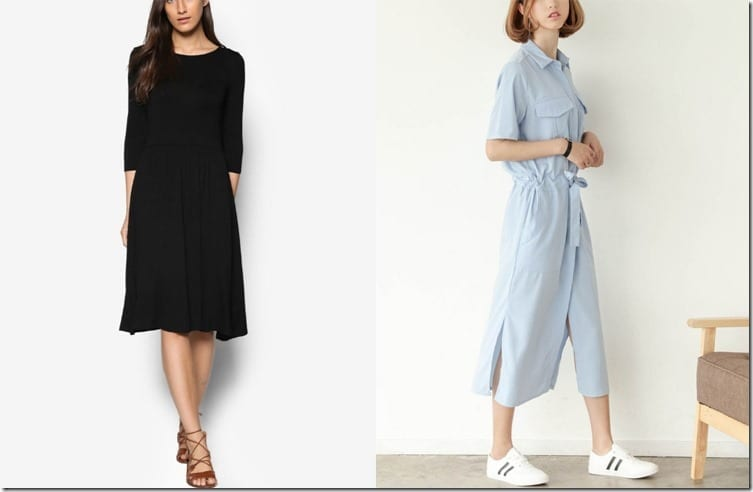 5 Highly Wearable Midi Dress Styles