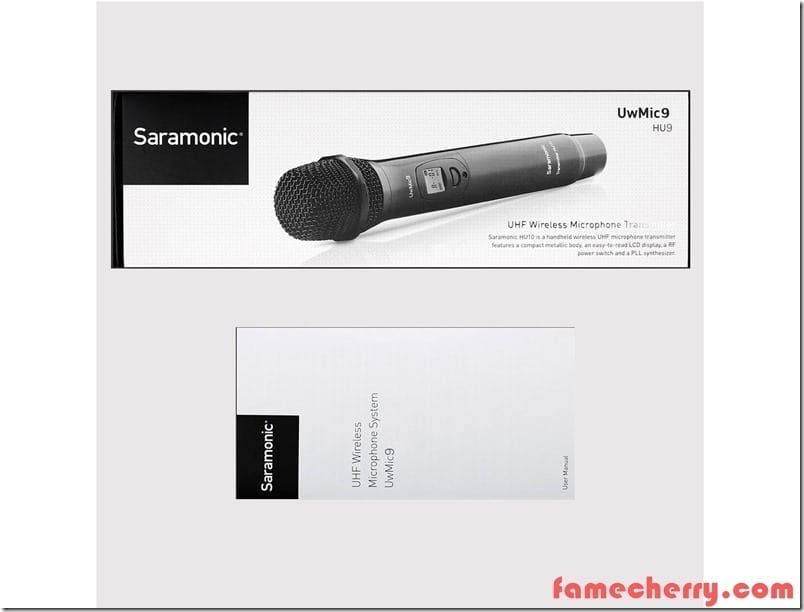 8 1 saramonic hu9 uhf wireless handheld microphone malaysia Basic Electrical Wiring Diagrams at edmiracle.co