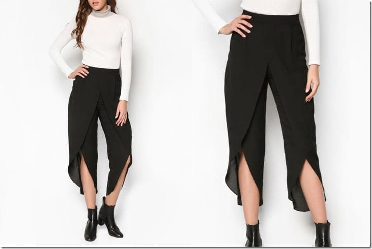 black-drape-slit-pants