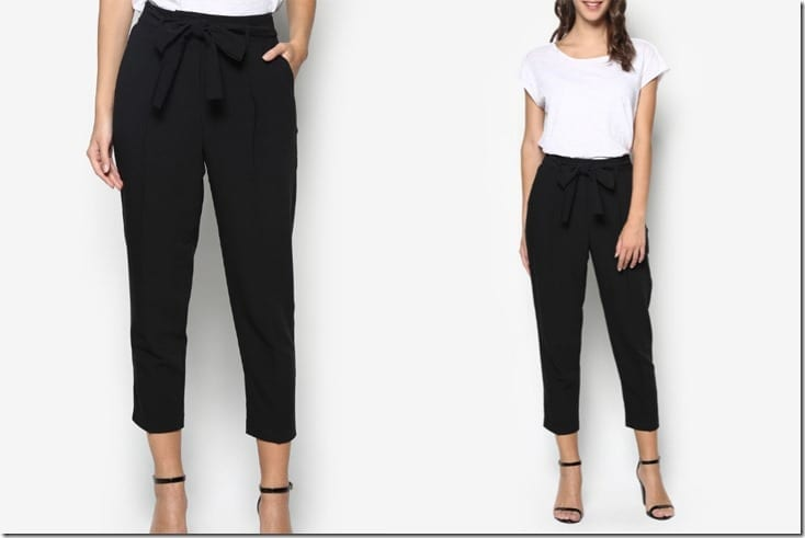 black-tie-waist-pants