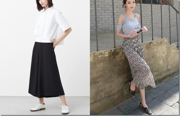 5 Flared + Cropped Summer Pants Ideas
