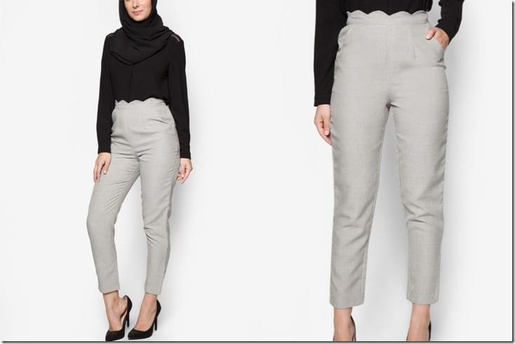 high-waist-grey-scallop-pants