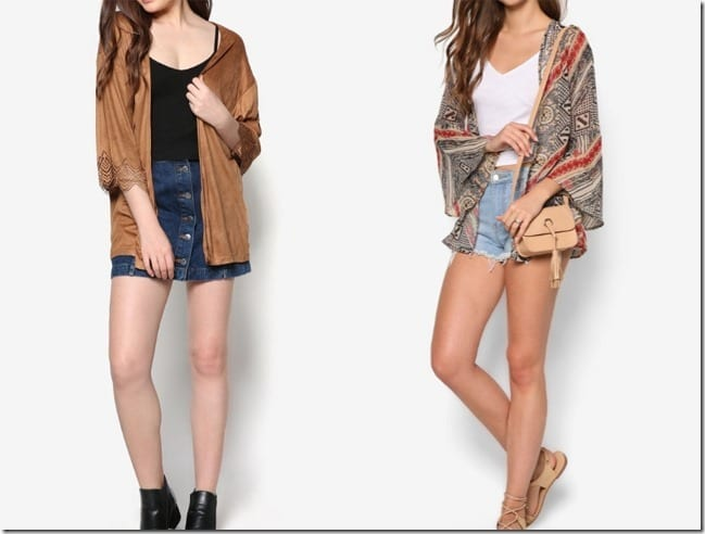 Kimono Style Cardigan Ideas To Give Your Wardrobe An Oriental Flair