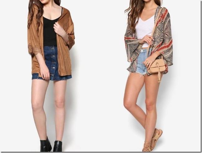 Kimono Style Cardigan Ideas To Give Your Wardrobe An Oriental Flair