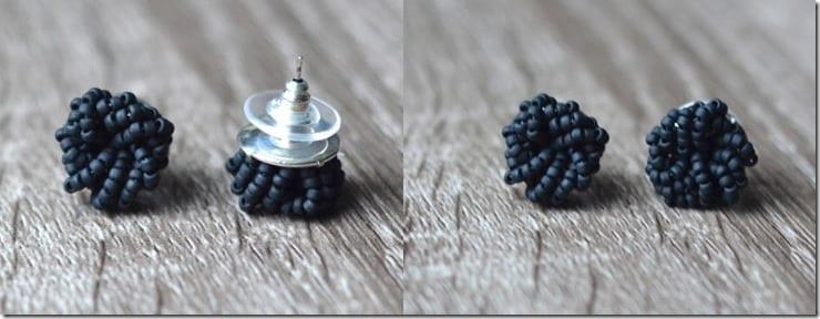 matte-black-cluster-stud-earrings
