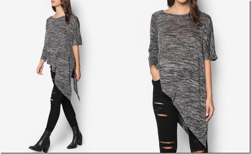 melange-asymmetric-drape-top
