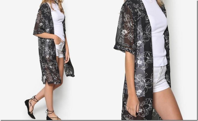 monochrome-flora-kimono