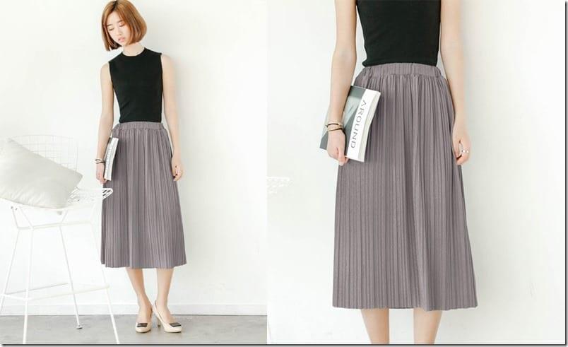 pleated-grey-midi-skirt