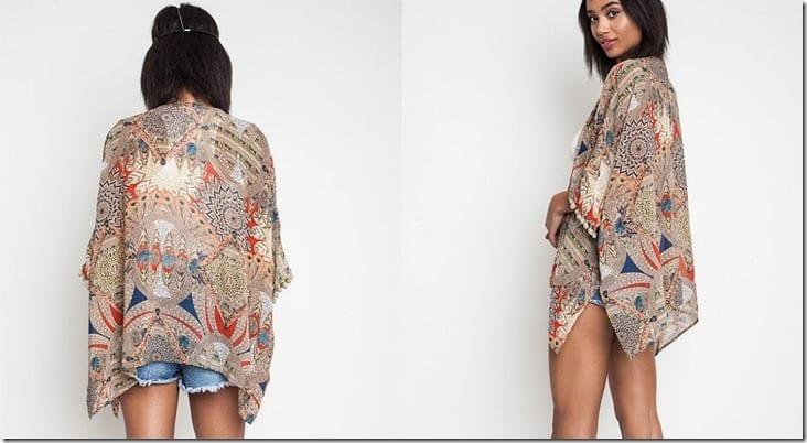 pompom-trim-tribal-sheer-kimono-cardi