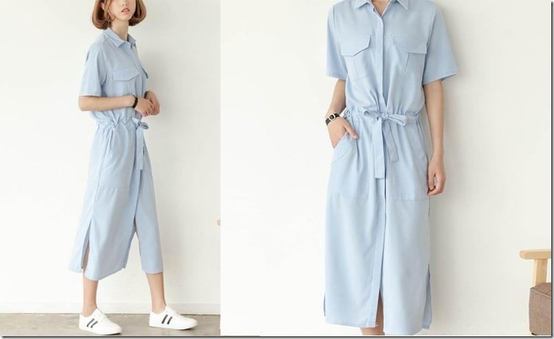 soft-blue-midi-shirt-dress