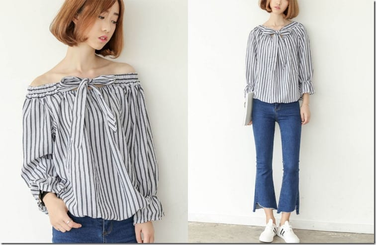 two-way-stripe-bow-blouse
