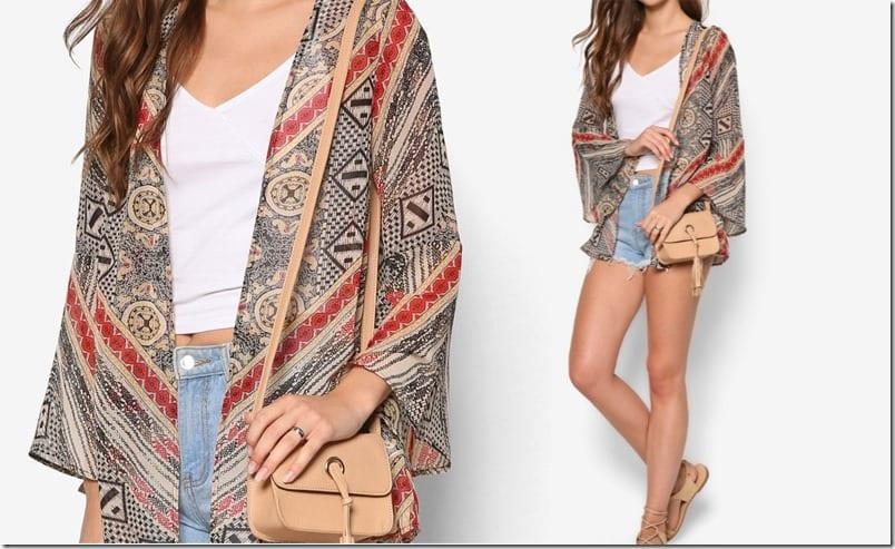 vintage-brown-print-kimono