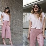 Fashionista NOW: Fashionable Ways To Wear Pleated Culottes