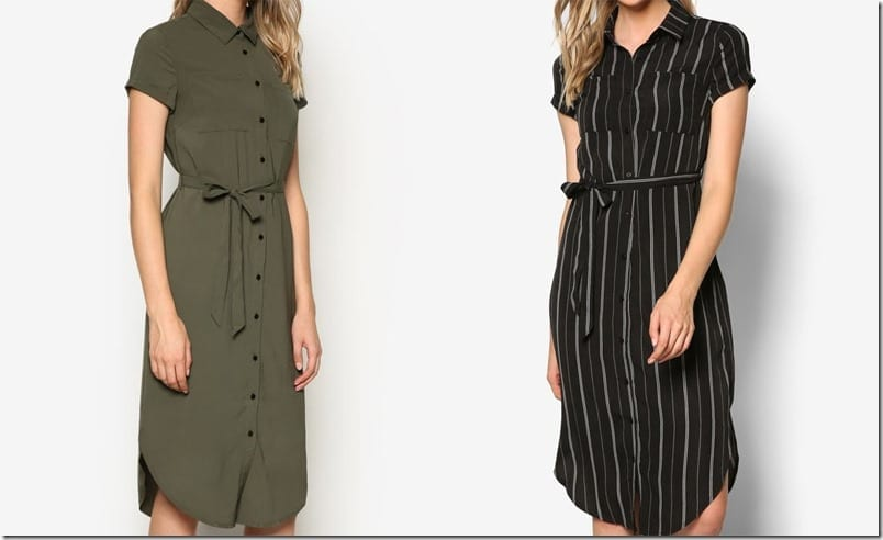 Wearable Midi Shirt Dress Styles For Your Minimalist Closet