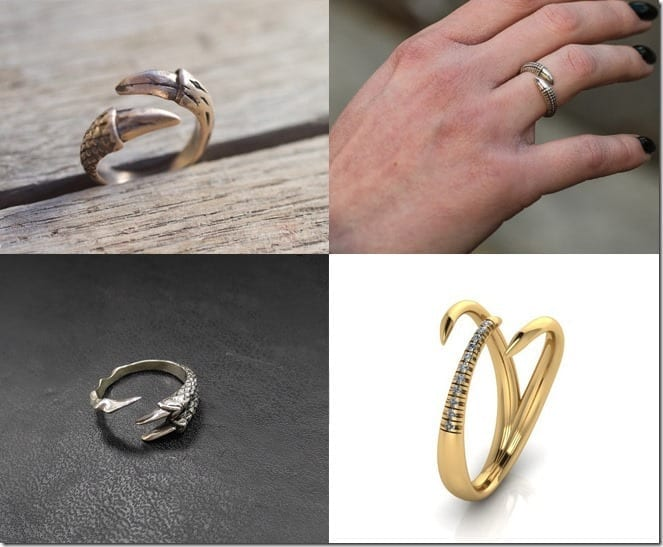 Claw Ring Jewelry Inspiration