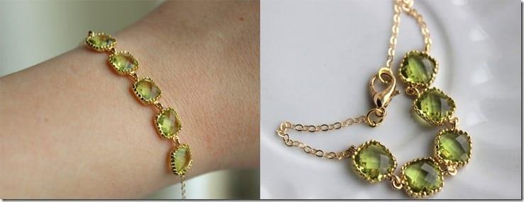 elegant-peridot-green-bracelet