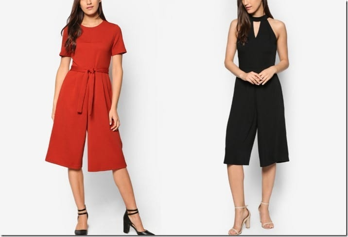 Halter And Culotte Style Jumpsuit Ideas