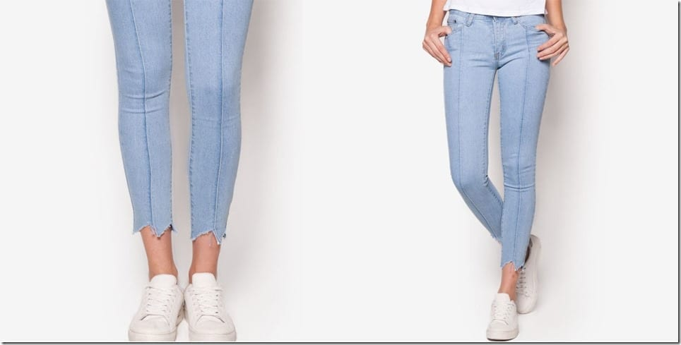 pale-blue-shredded-hem-skinny-jeans