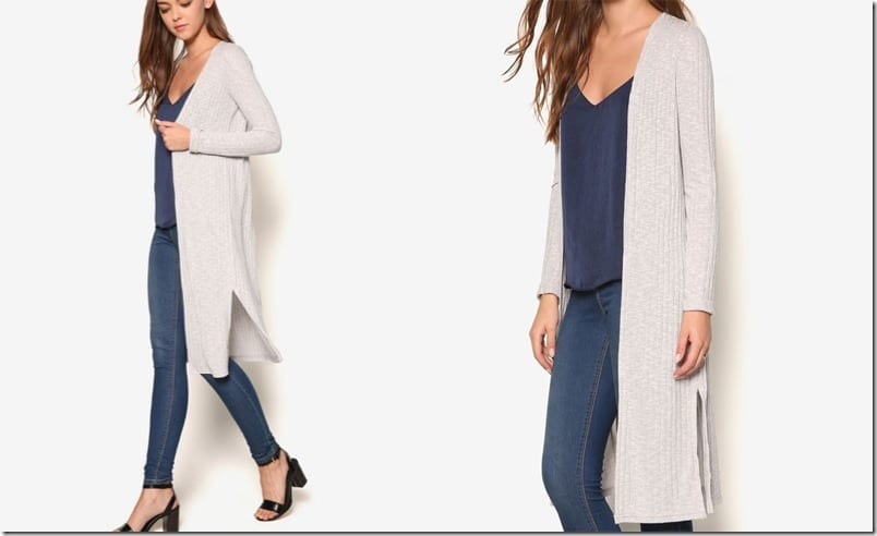 pale-grey-ribbed-midi-cardigan