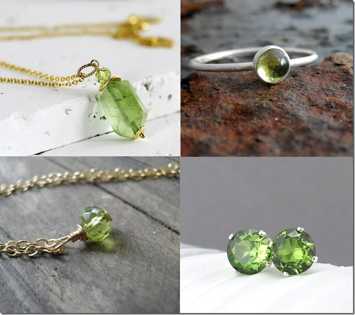 Peridot Green Jewelry Inspiration