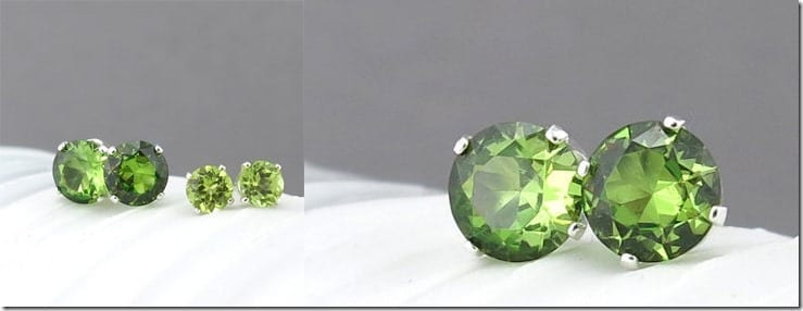 peridot-stud-earrings