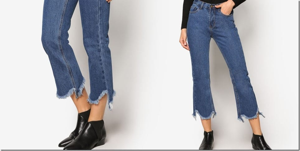 raw-edge-cropped-flare-jeans